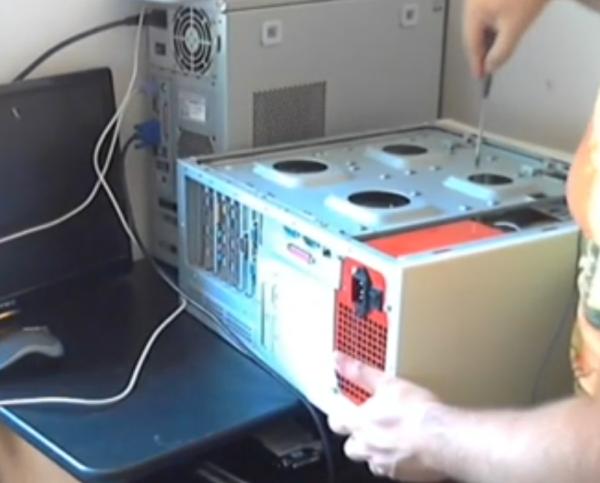 Pentium 4 con 128mb RAM Clonazione